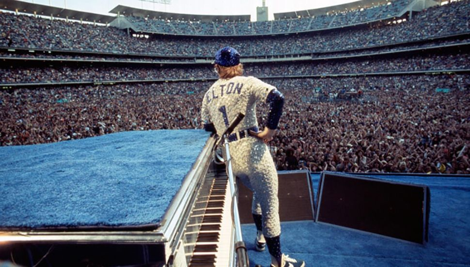 Elton John's historic sold-out concerts at Dodger Stadium. (Photo: Terry O'Neill @ Iconic Images)