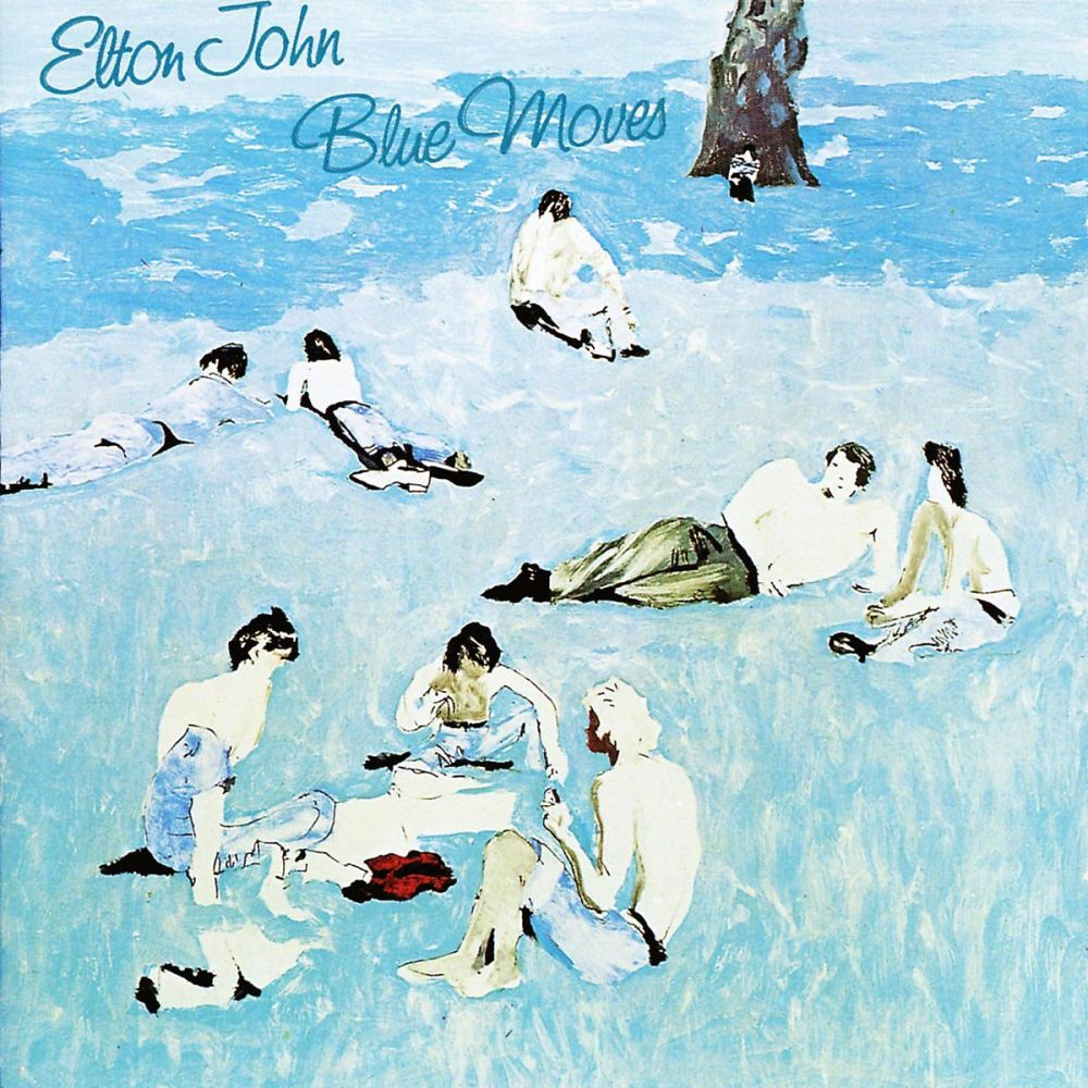 On October 22, 1976, Elton released 'Blue Moves', his second album of the year and his third album in 12 months.
