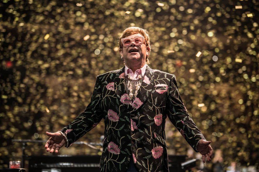 Elton performing on The 'Farewell Yellow Brick Road' tour in San Antonio on December 12, 2018 (Photo: Ben Gibson)