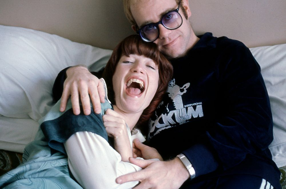 Elton and Kiki Dee (Photo: David Nutter)