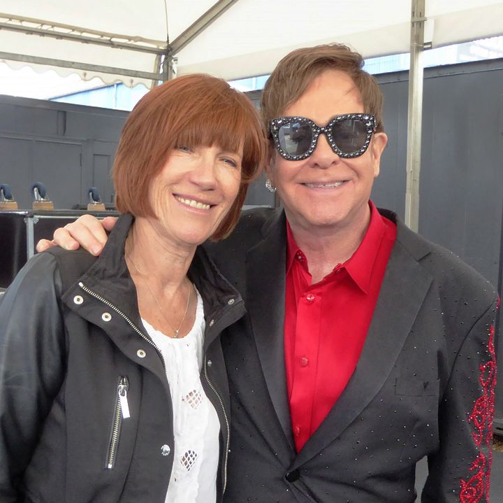Elton and Kiki in 2017 (Photo: Mark Giles).