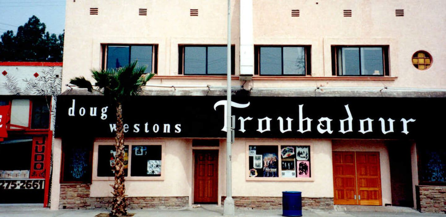 Doug Weston's nightclub the Troubadour, where Elton John held his first US show.