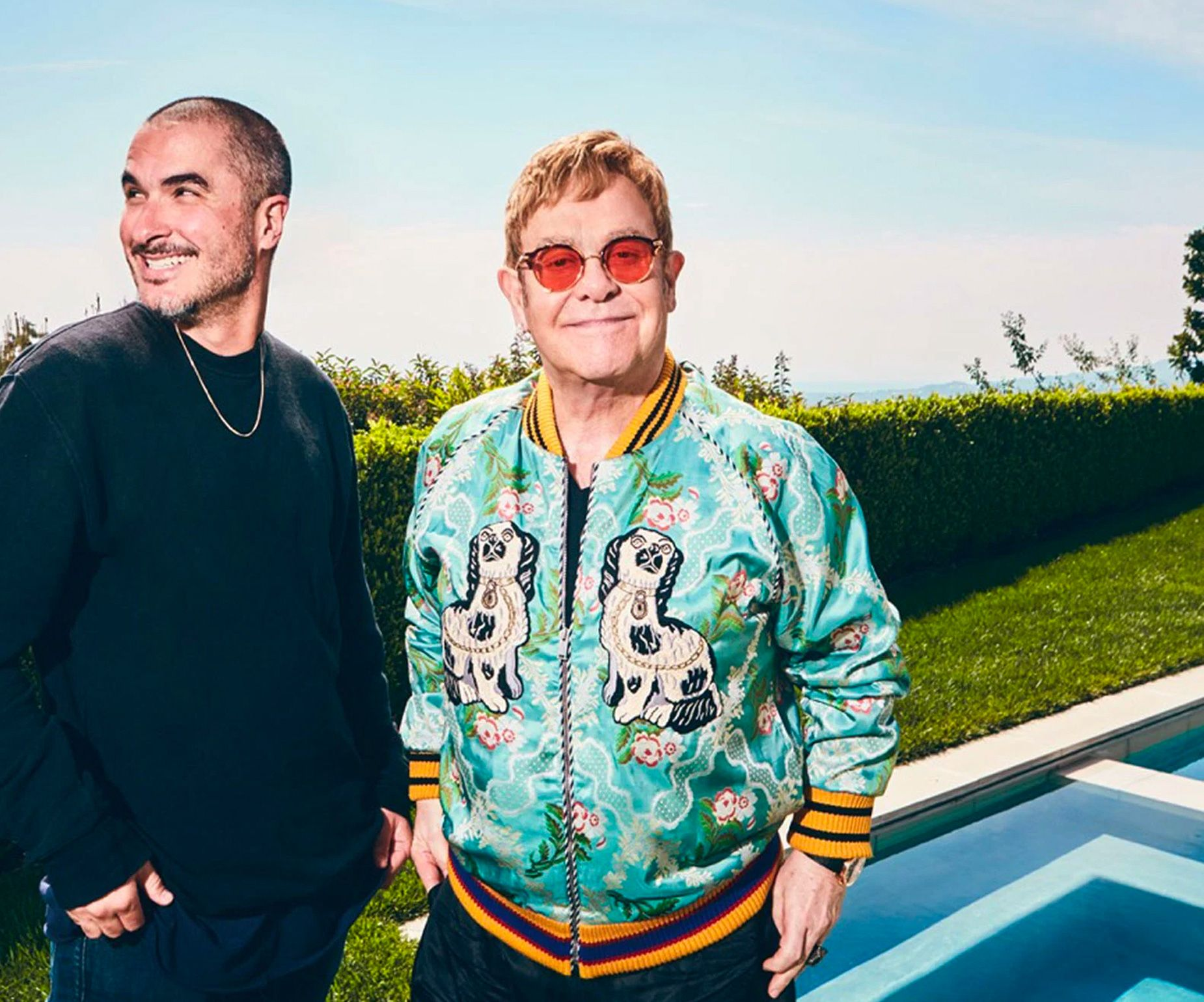 In the week leading up to the party, Elton sat down with Apple Music's Beats 1 Radio DJ Zane Lowe for a wonderfully casual hour-long interview that covered many decades and aspects of his career.