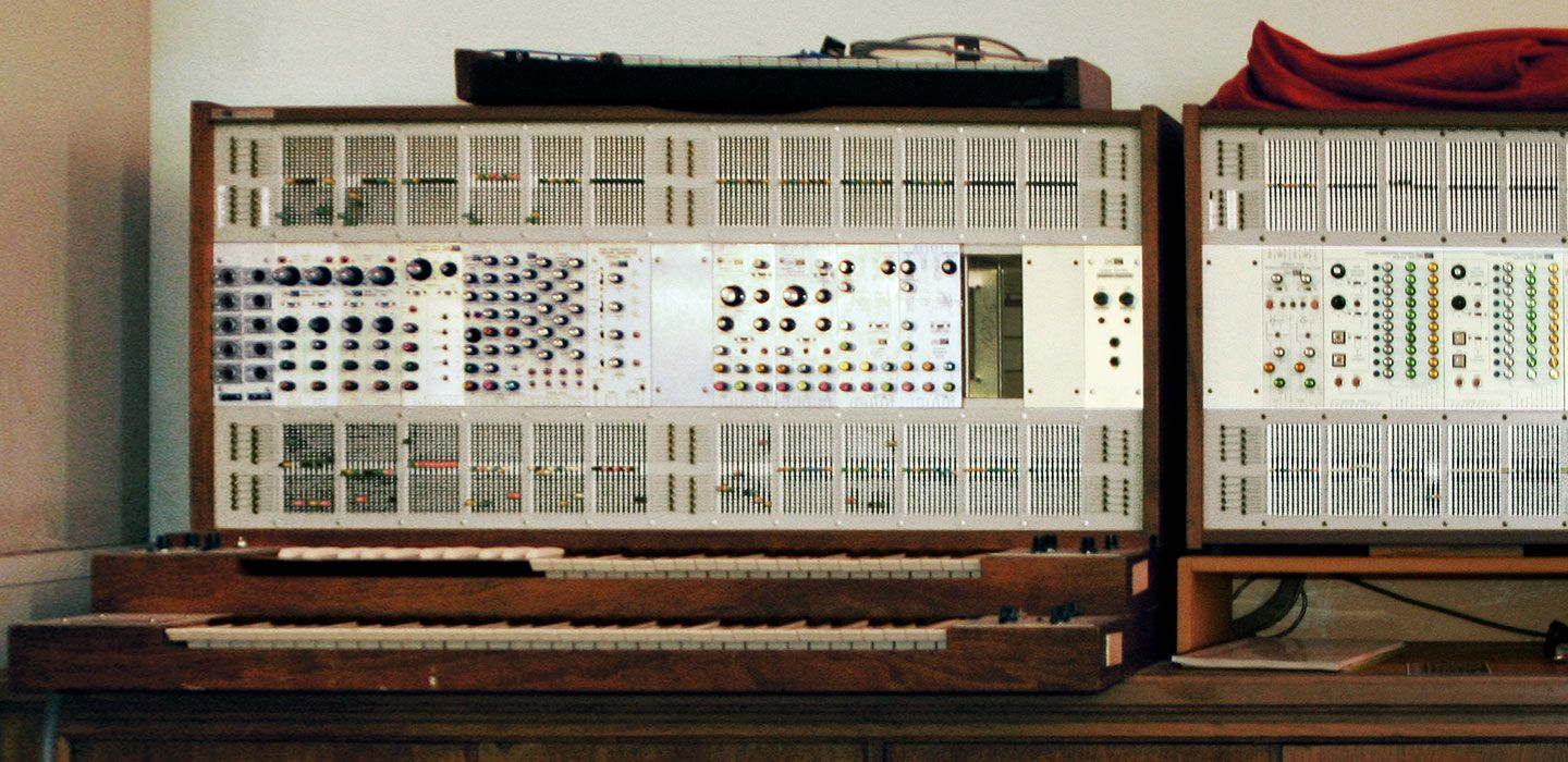 The ARP 2500 Synthesiser. (via Wikimedia Commons)
