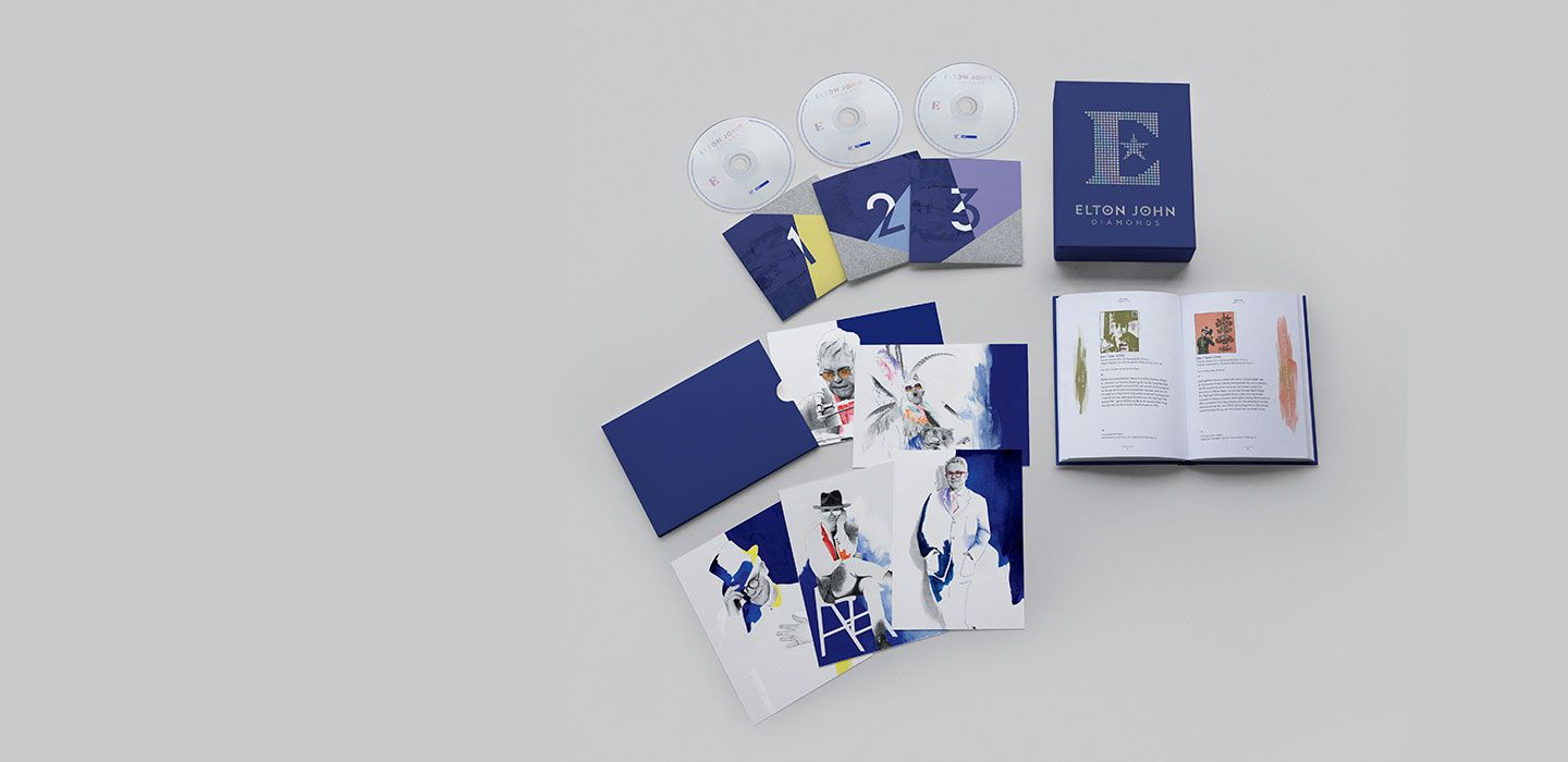 The 3 CD limited edition box set includes: