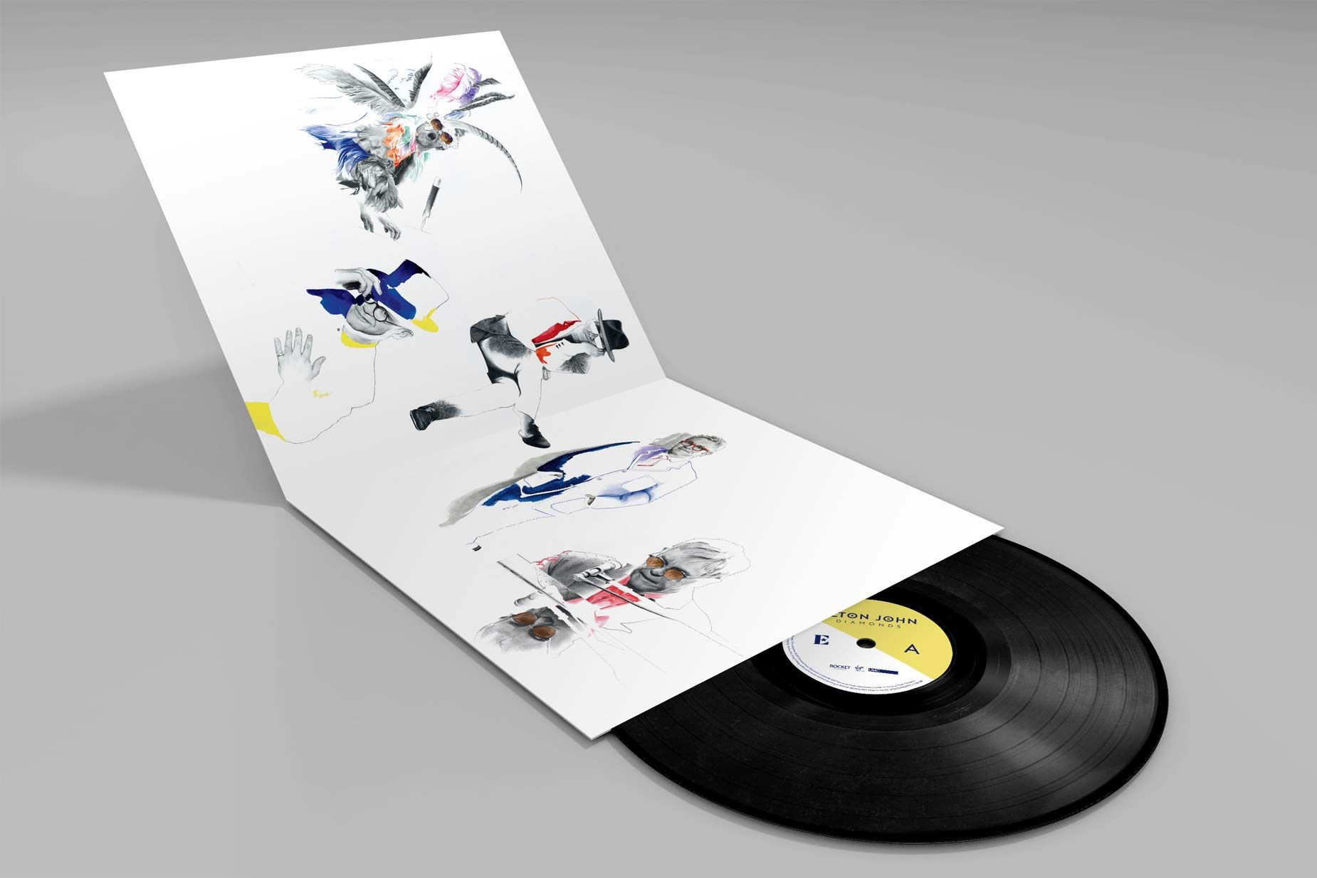 The 2 LP set, pressed on 180 gram vinyl, includes: