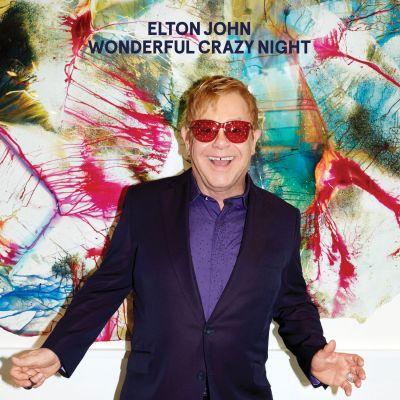 Elton released his 33rdstudio album,'Wonderful Crazy Night', in February.
