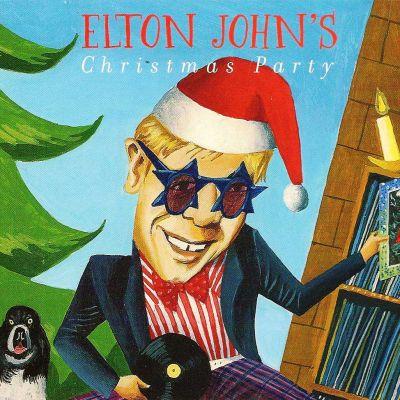 Elton John Christmas Ornament.Elton John S Christmas Party Elton John