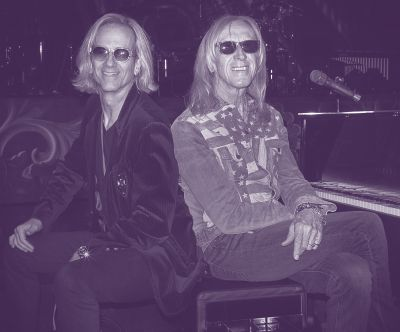 Happy Birthday to Band Members Davey Johnstone and Kim Bullard