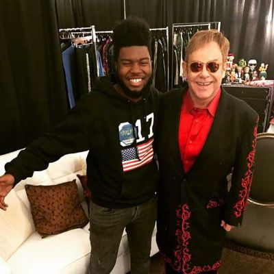 Elton has recorded two exclusive Spotify Singles tracks