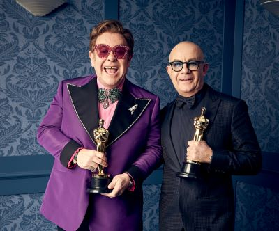 Elton and Bernie triumph at the 2020 Oscars