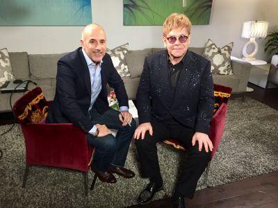 Watch and Listen to Elton Promote 'Diamonds'