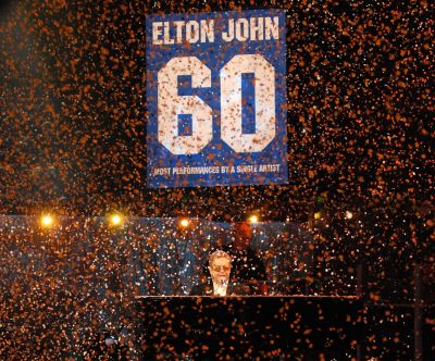 Elton's Birthday Celebrations Through the Years