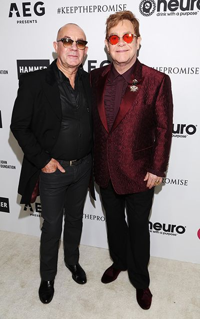 Elton spent his 70th birthday on Saturday night advocating for those in need, and for the arts, at a special celebration at Red Studios in Los Angeles benefitting the Elton John AIDS Foundation (EJAF) and the Hammer Museum at UCLA.