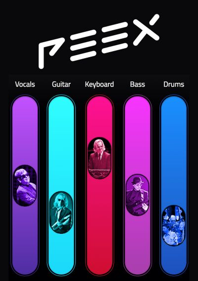Elton has partnered with PEEX for their launch this week, offering an exciting new way to experience live music.