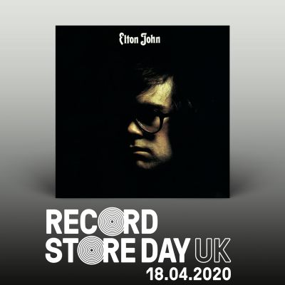 """Elton John"" deluxe 2LP released on Record Story Day - April 18, 2020"