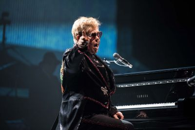 Nine months after announcing it, Elton opened his 'Farewell Yellow Brick Road' tour – a three-year, global victory lap – in Allentown, Pennsylvania on Saturday night.