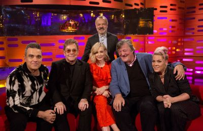 UK TV: Friday, December 1 – 'The Graham Norton Show'