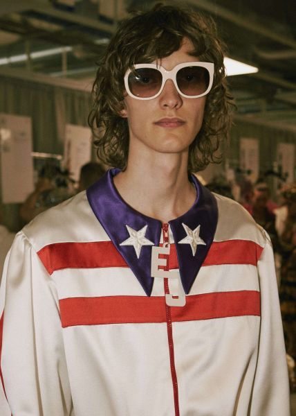 f0db786b5 When Alessandro Michele, as Creative Director, charted a new course for  Gucci in 2015, Elton was immediately a fan of his bold new vision for the  company.